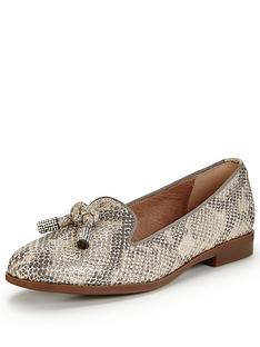 moda-in-pelle-enola-snake-loafer