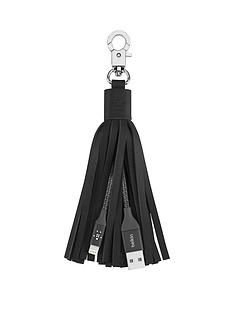 belkin-mixit-lightning-to-usb-leather-tassel-black