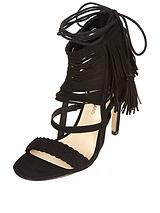 RIVER ISLAND TASSLE HIGH SANDAL