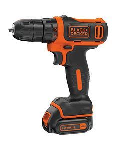 black-decker-bdcdd12-gb-108v-litium-ion-drill-driver