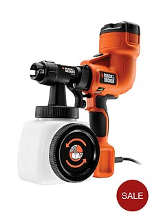 black-decker-hvlp200-gb-400w-hand-held-fence-paint-sprayer