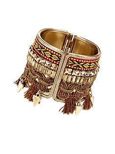 tassel-aztec-cuff