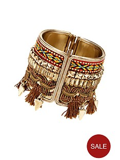 v-by-very-tassel-aztec-cuff