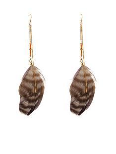 multi-feather-earrings