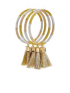 v-by-very-metallic-multi-tassel-layering-bangles