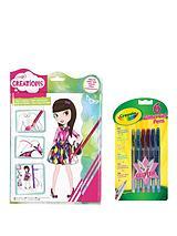 Crayola Fashion Designer Set