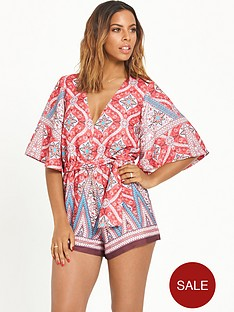 rochelle-humes-printed-playsuit