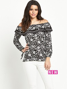 v-by-very-tiered-neck-gypsy-top