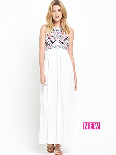 v-by-very-aztec-embroidered-maxi-dress