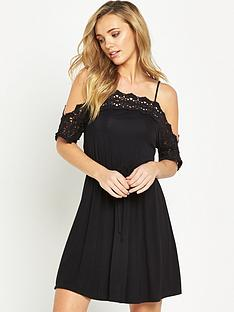 v-by-very-crochet-cold-shoulder-dress
