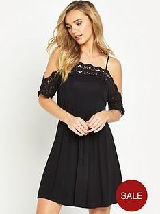 v-by-very-crochet-cold-shoulder-dress