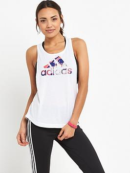 adidas-summer-logo-muscle-tank-white