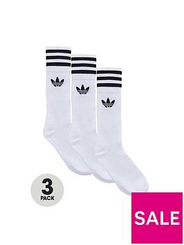 adidas-originals-solid-crew-socks-3-pack
