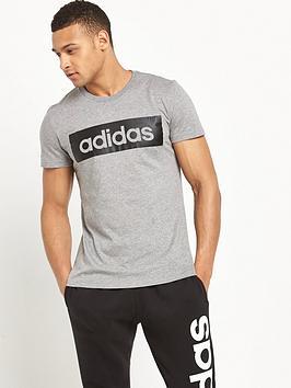 adidas-logo-t-shirt