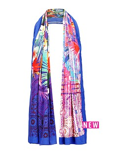 v-by-very-canyon-tropical-palm-print-scarf