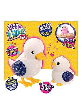 little-live-pets-duck-and-baby-sparkle-family