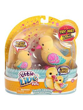 little-live-pets-duck-and-baby-shelley-family