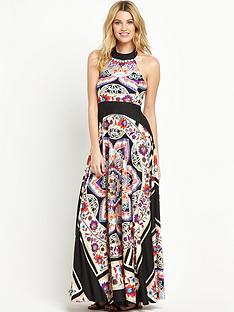v-by-very-scarf-print-maxi-dress