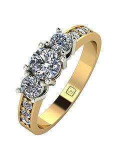 Cheap Gold Wedding Rings Sets 38 Nice Engagement rings moissanite uk