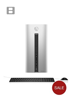 hp-pavillion-550-219na-amd-a10nbspprocessornbsp16gb-ramnbsp2tb-hard-drive-amp-128gb-ssd-pc-gaming-desktop-base-unit-withnbspamd-2gb-dedicated-graphics-r9-360-natural-silver