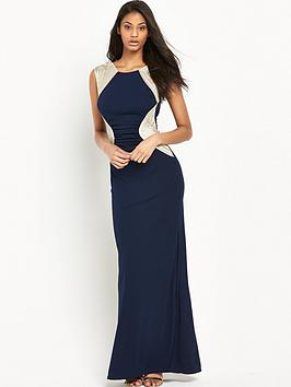 lipsy-sequin-stripe-maxi-dress