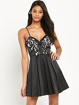 Ariana Grande Lace Top Prom Dress