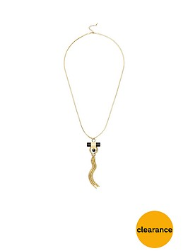 v-by-very-stone-charm-necklace