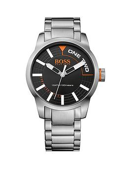 hugo-boss-tokyonbspsilver-stainless-steel-black-dial-mens-watch