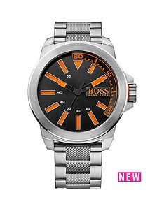 hugo-boss-hugo-boss-new-york-silver-stainless-steel-black-dial-gents-watch