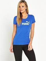 PUMA ESSENTIALS LOGO T SHIRT