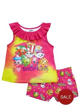 shopkins-girls-summer-pyjamas