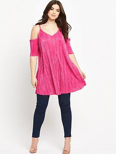 so-fabulous-crinkle-cold-shoulder-tunic