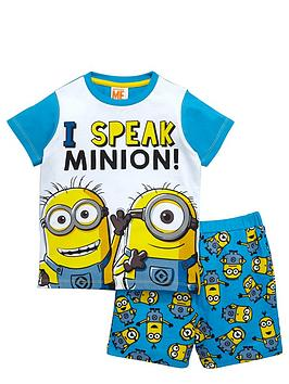 minions-boys-i-speak-minion-shortynbsppyjamas