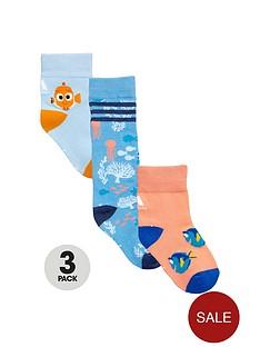 adidas-adidas-disney-younger-girls-3pk-dory-socks