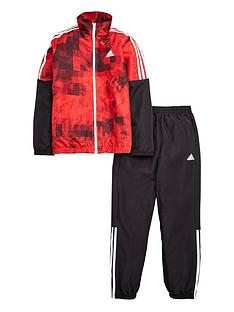 adidas-adidas-older-boys-woven-print-suit