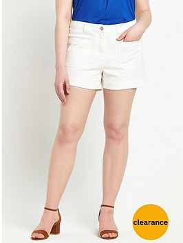 so-fabulous-denim-pocket-detail-shorts-white