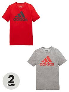 adidas-adidas-older-boys-pk-2-tees
