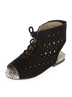 river-island-mini-girls-laser-cut-lace-up-sandals