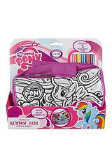 My Little Pony Scribble Me Hand Bag Rainbow Dash