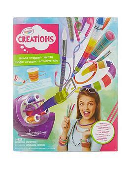 crayola-thread-wrapper