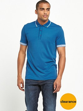 boss-green-logo-short-sleeve-mensnbsppolo-shirt-ndash-true-blue