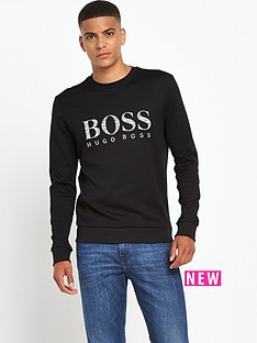 boss-green-logo-sweatshirt-top