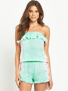 v-by-very-tie-dye-frill-beach-playsuitnbsp