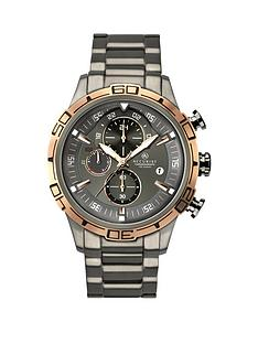 accurist-contemporary-chronograph-gun-metal-bracelet-gents-watch