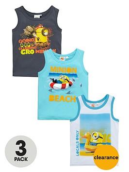 minions-boys-vest-tops-3-pack