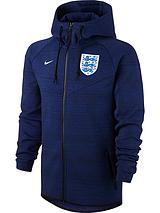 Nike Mens England Training Authentic Fleece Windrunner