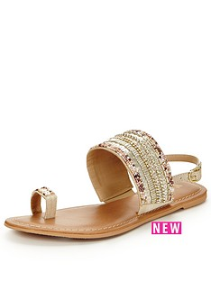 v-by-very-sand-embellished-flat-sandal