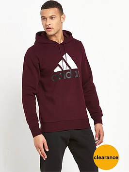 adidas-logo-pullover-hoodie