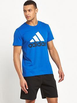 adidas-logo-short-sleevenbspt-shirt