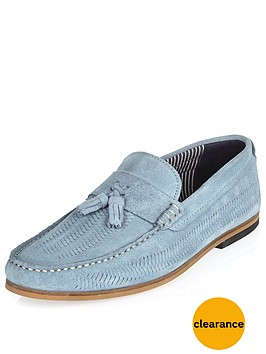 river-island-mens-slim-woven-loafer-light-blue